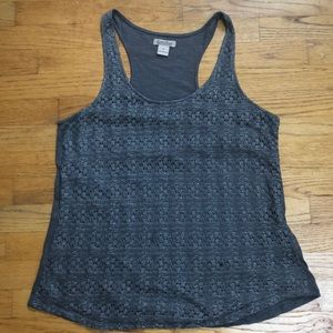 Lucky Brand lace front tank top